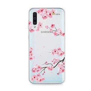 Capa para Galaxy A50 - Cerejeiras