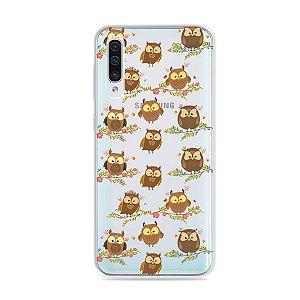 Capa para Galaxy A50 - Corujinhas