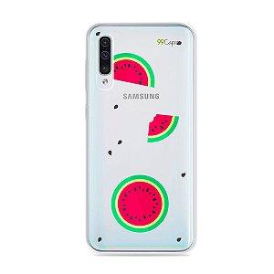 Capa para Galaxy A50 - Melancias