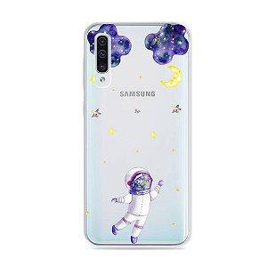 Capa para Galaxy A50 - Astronauta Sonhador