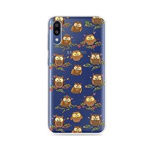 Capa para Galaxy M20 - Corujinhas