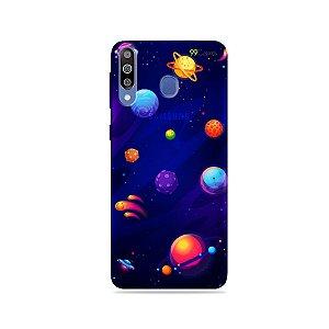 Capa para Galaxy M30 - Galáxia