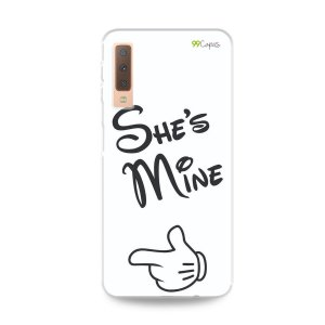 Capa para Galaxy A7 2018 - She's Mine