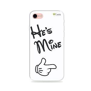 Capa para iPhone 8 Plus - He's Mine