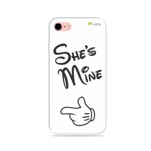 Capa para iPhone 8 Plus - She's Mine