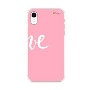 Capa para iPhone XR - Love 2