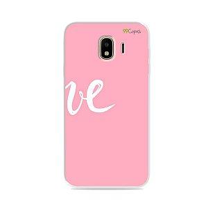 Capa para Galaxy J4 2018 - Love 2