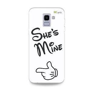 Capa para Galaxy J6 - She's Mine
