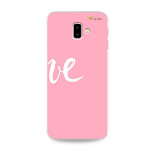 Capa para Galaxy J6 Plus - Love 2