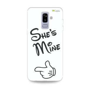 Capa para Galaxy J8 - She's Mine