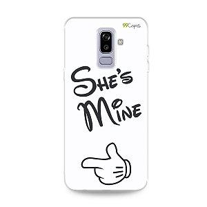 Capa para Galaxy J8 - She's Mine