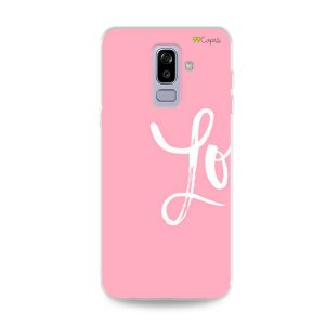 Capa para Galaxy J8 - Love 1