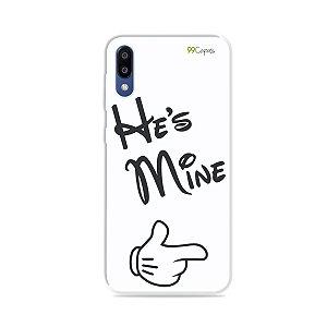 Capa para Galaxy M10 - He's Mine