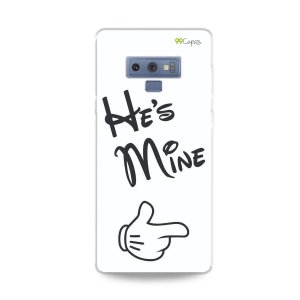 Capa para Galaxy Note 9 - He's Mine
