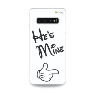 Capa para Galaxy S10 Plus - He's Mine