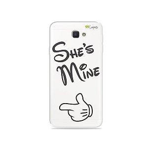 Capa para Galaxy J7 Prime - She's Mine