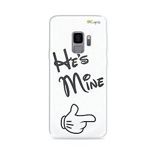 Capa para Galaxy S9 - He's Mine