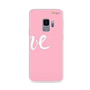 Capa para Galaxy S9 - Love 2