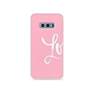 Capa para Galaxy S10e - Love 1