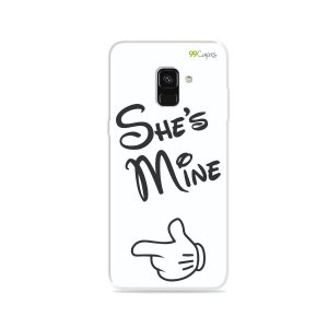 Capa para Galaxy A8 Plus 2018 - She's Mine