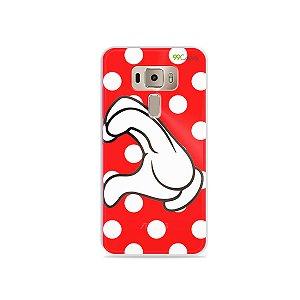 Capa para Asus Zenfone 3 - 5.2 Polegadas - Coração Minnie