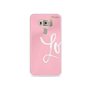 Capa para Asus Zenfone 3 - 5.2 Polegadas - Love 1