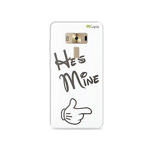 Capa para Asus Zenfone 3 Deluxe - 5.7 Polegadas - He's Mine