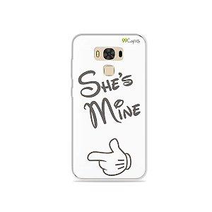 Capa para Asus Zenfone 3 Max - 5.5 Polegadas - She's Mine