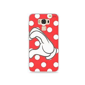 Capa para Asus Zenfone 3 Max - 5.5 Polegadas - Coração Minnie