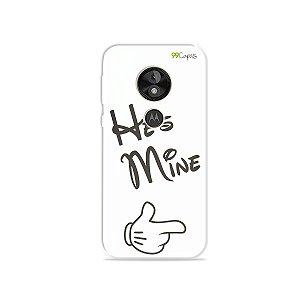 Capa para Moto E5 Play - He's Mine