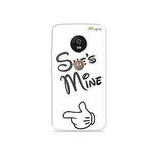 Capa para Moto G5 - She's Mine