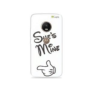 Capa para Moto G5 Plus - She's Mine