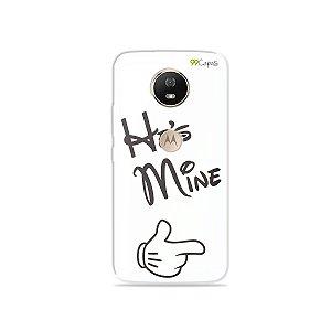 Capa para Moto G5S - He's Mine