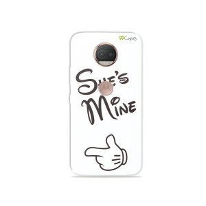 Capa para Moto G5S Plus - She's Mine