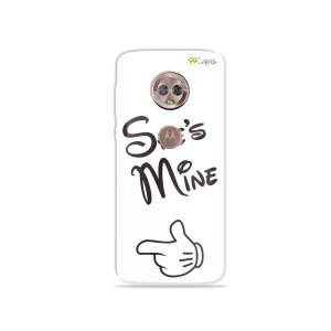 Capa para Moto G6 - She's Mine