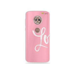Capa para Moto G6 - Love 1