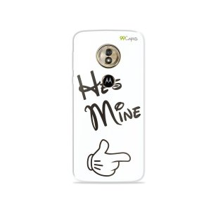 Capa para Moto G6 Play - He's Mine