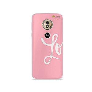 Capa para Moto G6 Play - Love 1