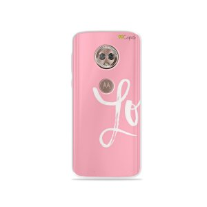 Capa para Moto G6 Plus - Love 1