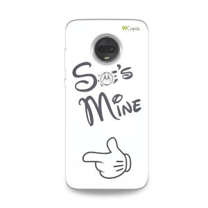 Capa para Moto G7 - She's Mine