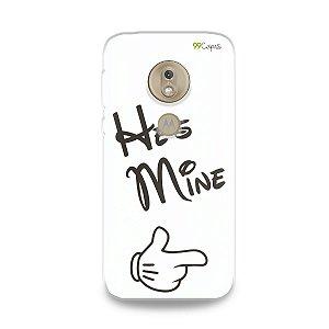 Capa para Moto G7 Play - He's Mine
