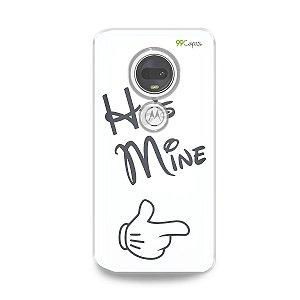 Capa para Moto G7 Plus - He's Mine