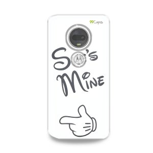 Capa para Moto G7 Plus - She's Mine