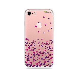 Capa para iPhone 7 - Borboletas Flutuantes