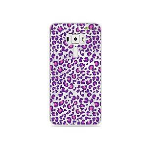 Capa para Asus Zenfone 3 - 5.5 Polegadas - Animal Print Purple