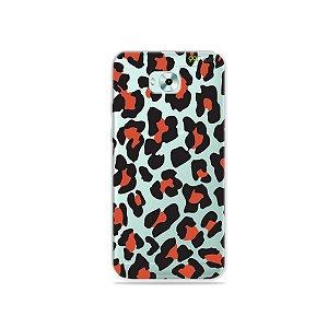 Capa para Zenfone 4 Selfie - Animal Print Red