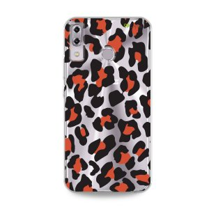 Capa para Asus Zenfone 5 e 5Z - Animal Print Red