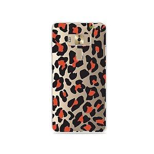 Capa para Zenfone 3 Deluxe - 5.7 Polegadas - Animal Print Red