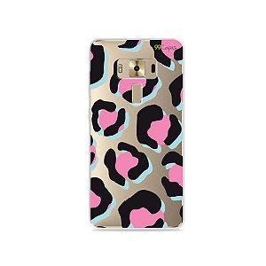 Capa para Zenfone 3 Deluxe - 5.7 Polegadas - Animal Print Black & Pink