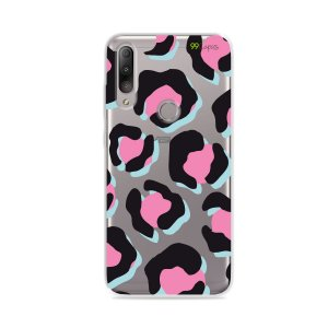 Capa para Zenfone Max Shot - Animal Print Black & Pink
